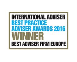 International Adviser Winner 2016