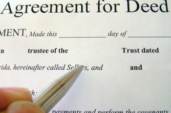deed-agreement