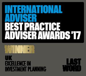 International adviser Best Practice Adviser Awards 2017