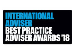 International Adviser Best Practice Adviser Awards 2018 Logo