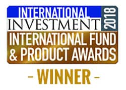 International Investment International Fund & Product Awards 2018 Logo