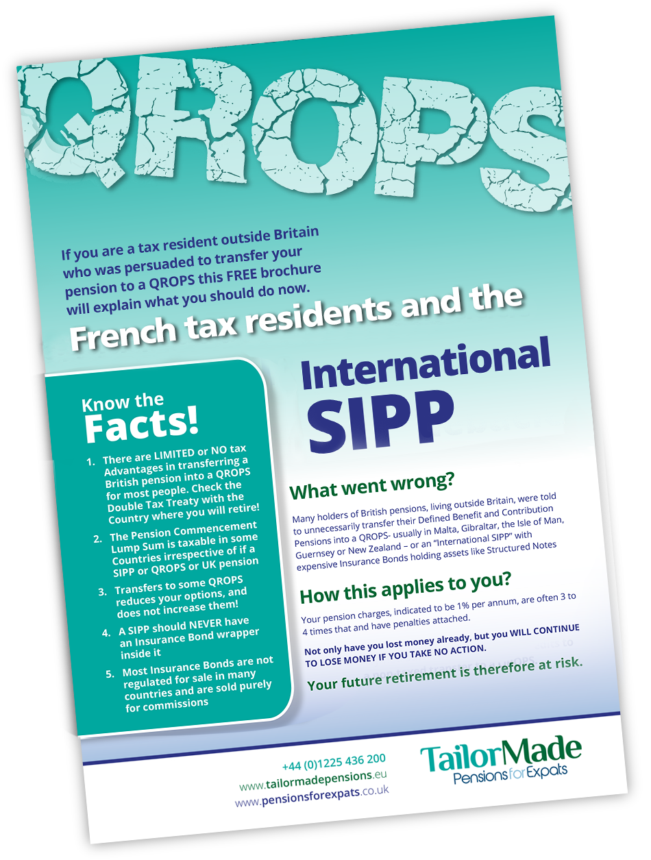 International Offshore Bond Charges In France Brochure